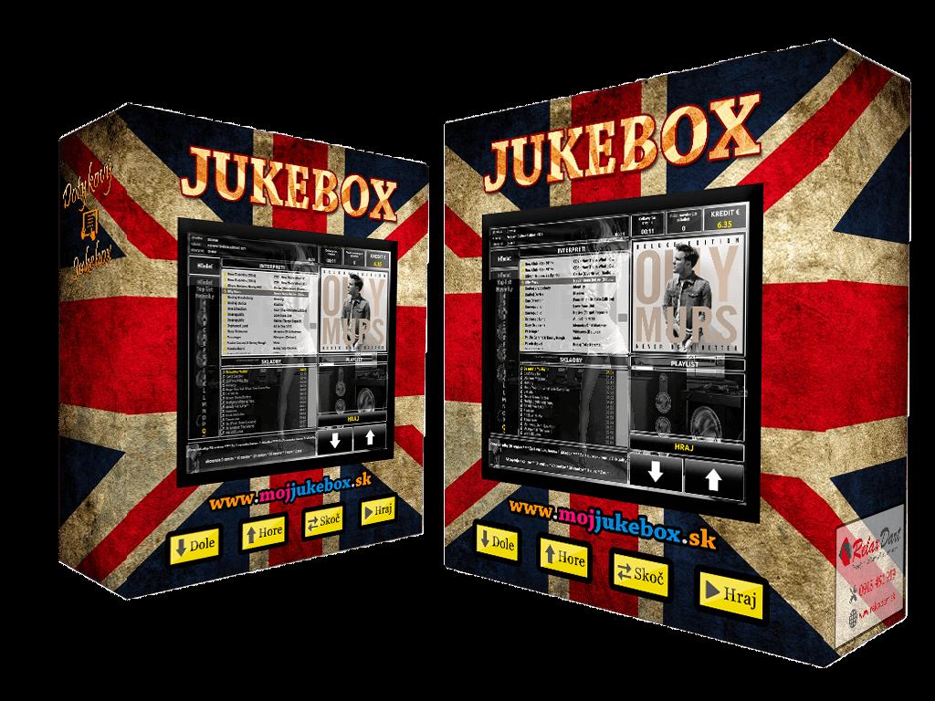 Jukebox - nástenný dotykový jukebox na prenájom