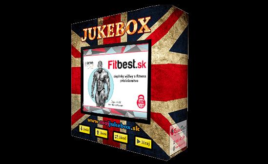 Reklama v Jukeboxe - celá obrazovka jukeboxu