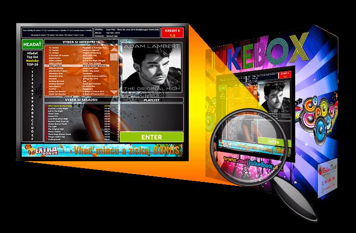 Reklama v Jukeboxe - animovaný banner